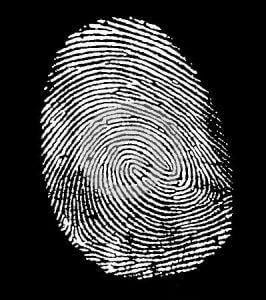 Impronta digitale, chi sono psicologo