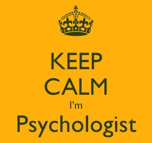 keep Calm i'm a Psychologist